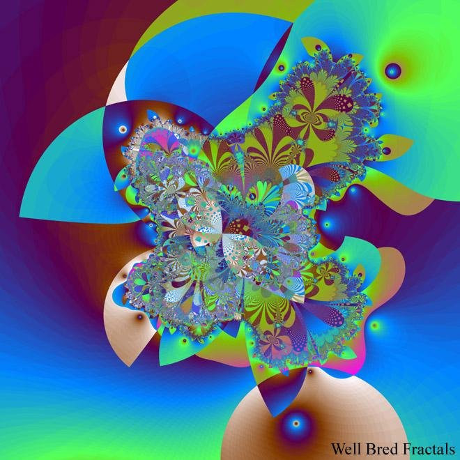 Well Bred Fractals #122 - Artfest Ontario - Well Bred Fractals - Paintings, Artwork & Sculpture