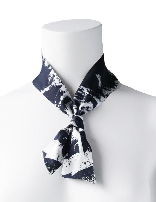 White Pine Twilly Scarf - Artfest Ontario - Water Wood Style - Twilly Silk Scarf