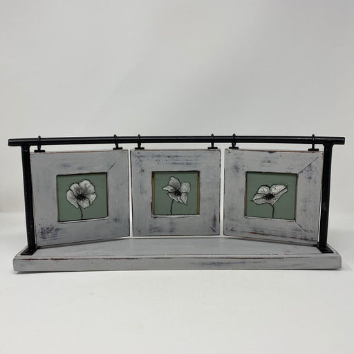 White Poppies - Artfest Ontario - Shardz Art Glass - Glass Work