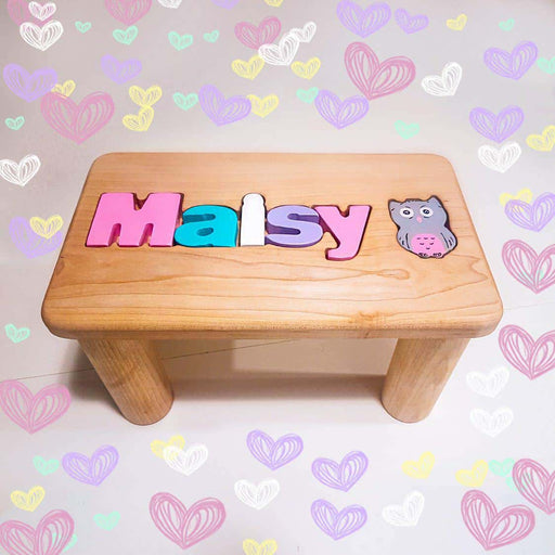 Wooden bench name + 1 sign - Artfest Ontario - Wooden Puzzle Name Canada - Toys & Games