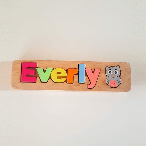 Wooden puzzle name + 1 sign - Artfest Ontario - Wooden Puzzle Name Canada - Toys & Games