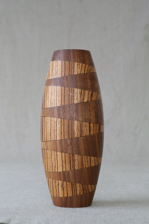 ZigZag Sealed Wooden Vase - Artfest Ontario - Merganzer Furniture - Furniture & Houseware