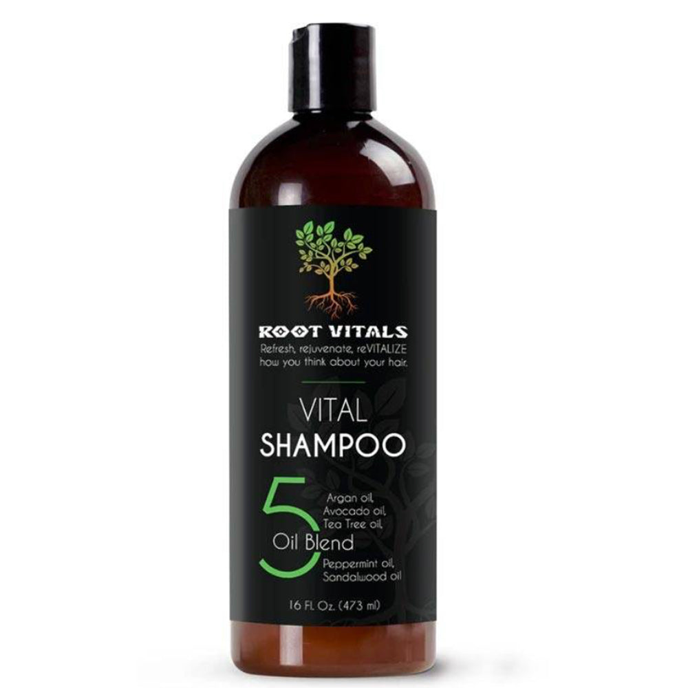 Root Vitals Natural Organic Shampoo for best hair results