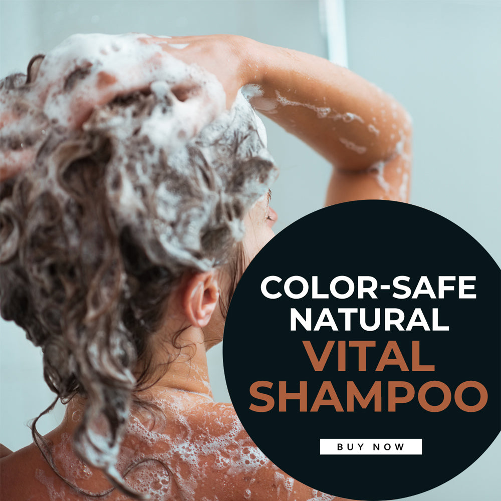 Vital Shampoo for Natural Hair Growth (Orange Zest)