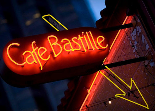 Cafe Bastille takeout and curbside pickup