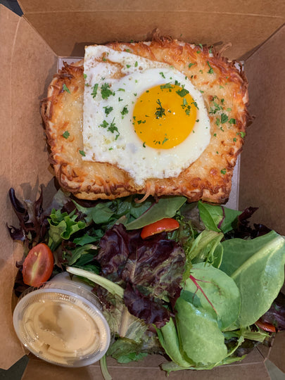 French Classic Croque Madame