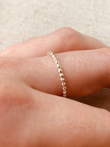 Tiny Dots Stacking Ring
