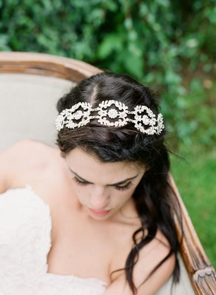 DARLA Art Deco Headpiece