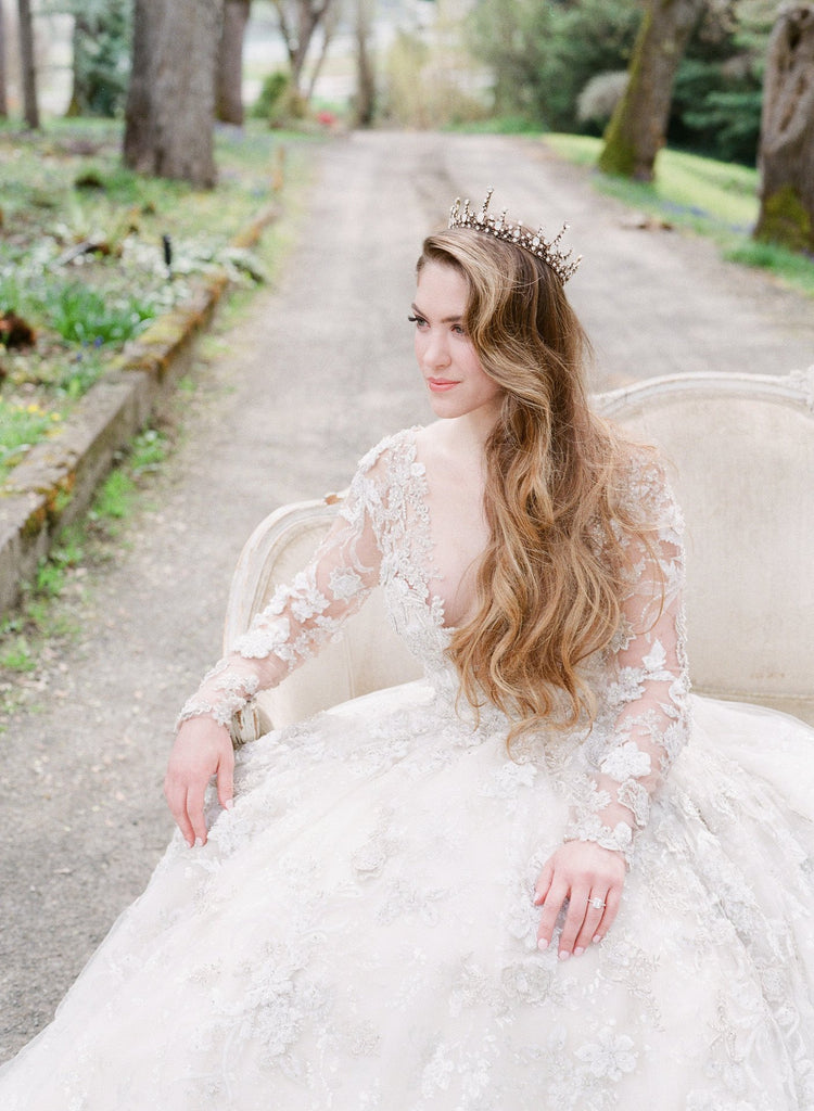 GEORGINA Bridal Crown