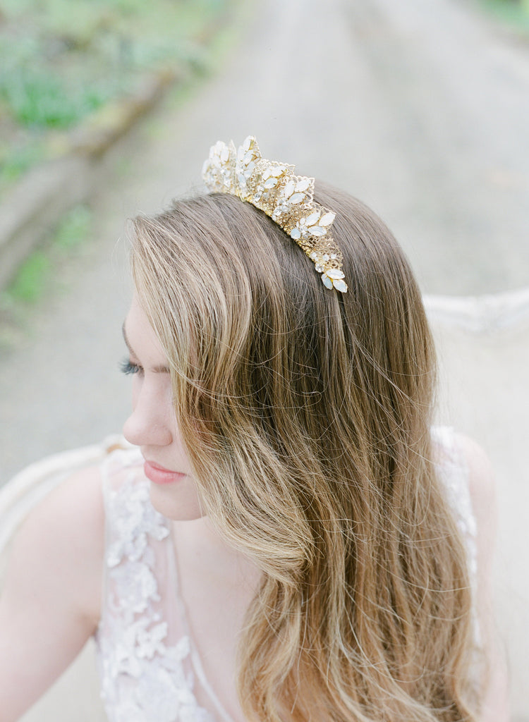 MORGAN Bridal Headpiece Wedding Tiara