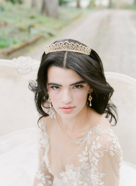 GRETA Art Deco Wedding Tiara