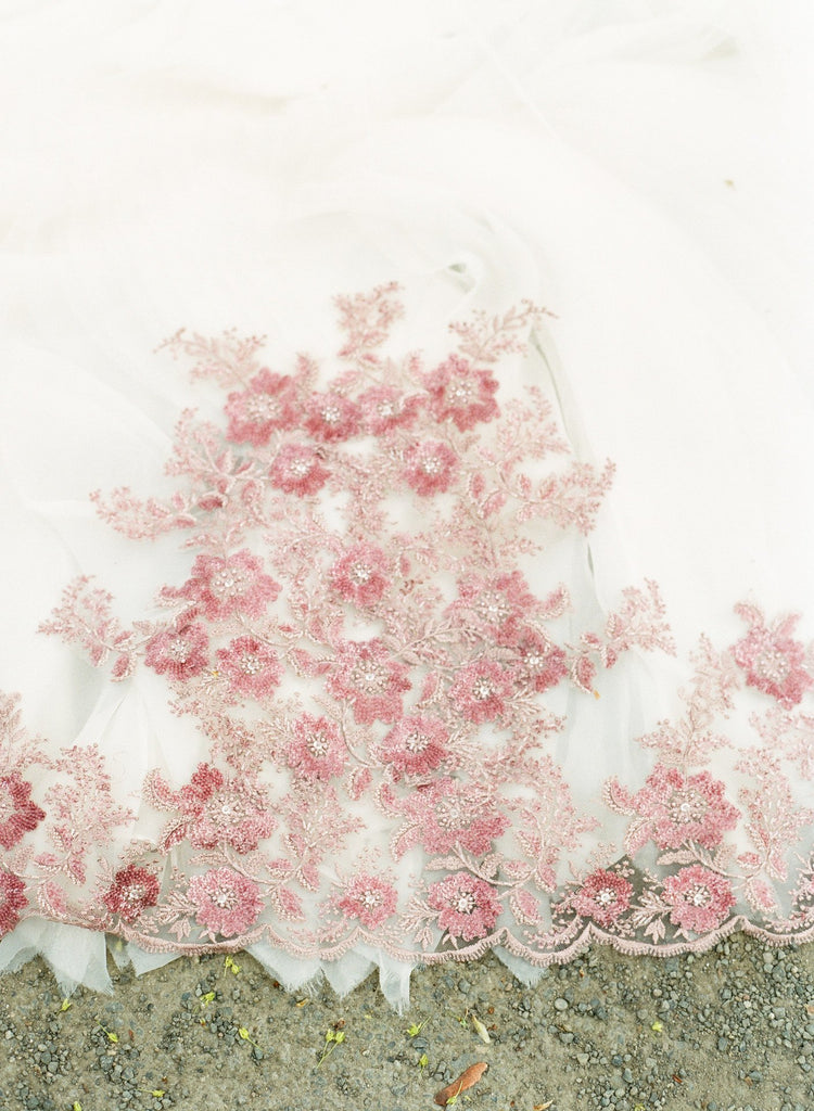 The FREYA Couture Cathedral Veil