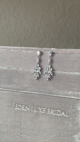 JASMINE Bridal Drop Earrings