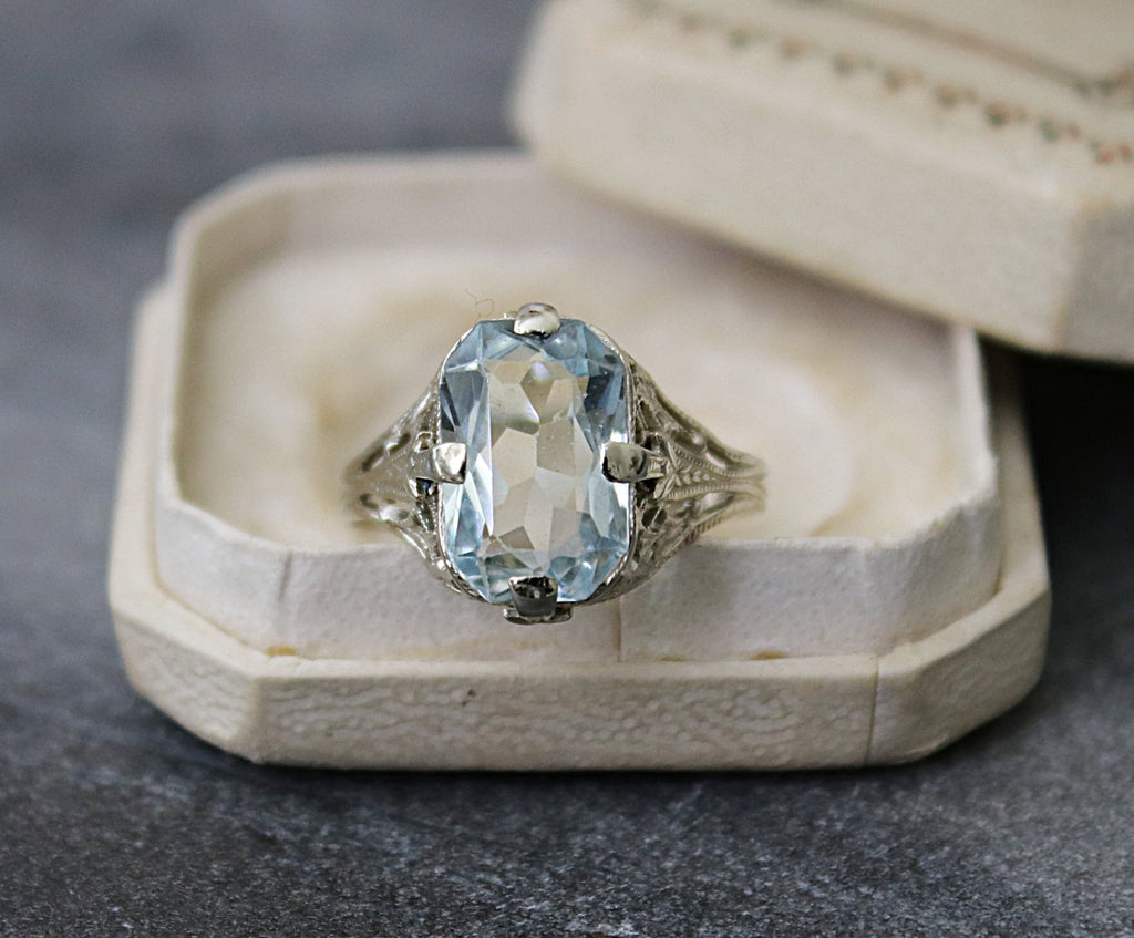 Aquamarine Engagement Ring | EDEN LUXE Bridal
