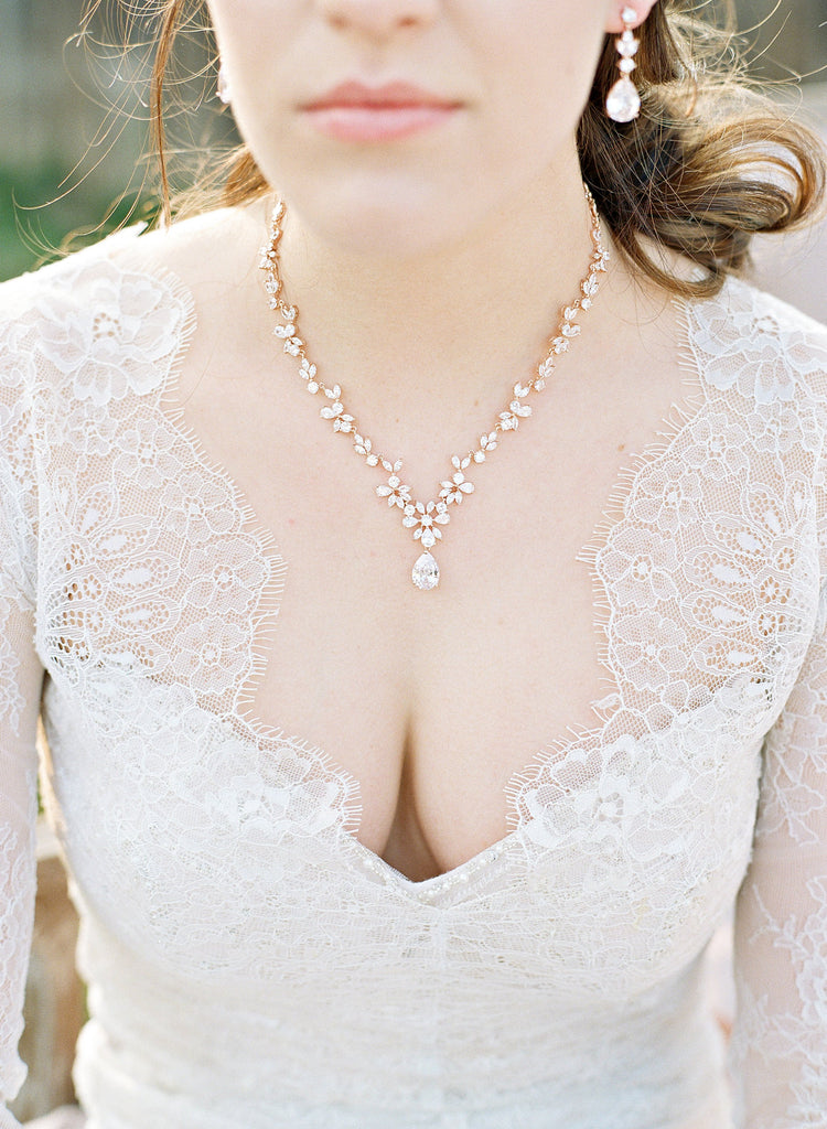 Gold Bridal Necklace