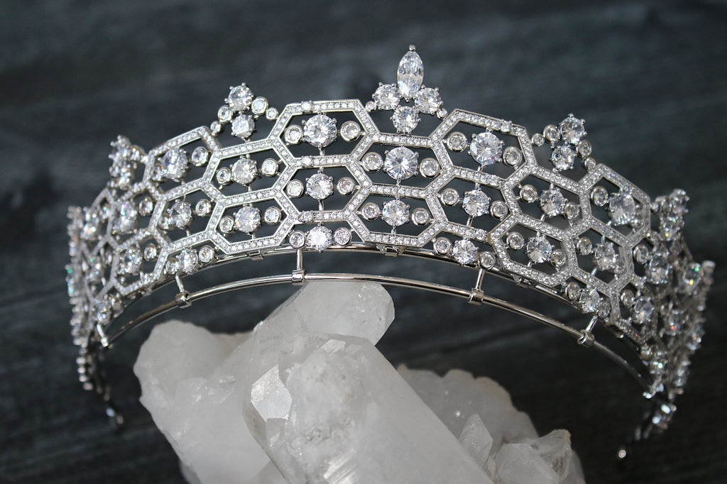 CAMILLA Royal Bridal Crown