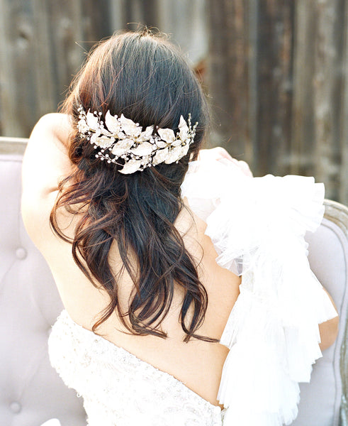 CONRAD Leaf Bridal Headpiece