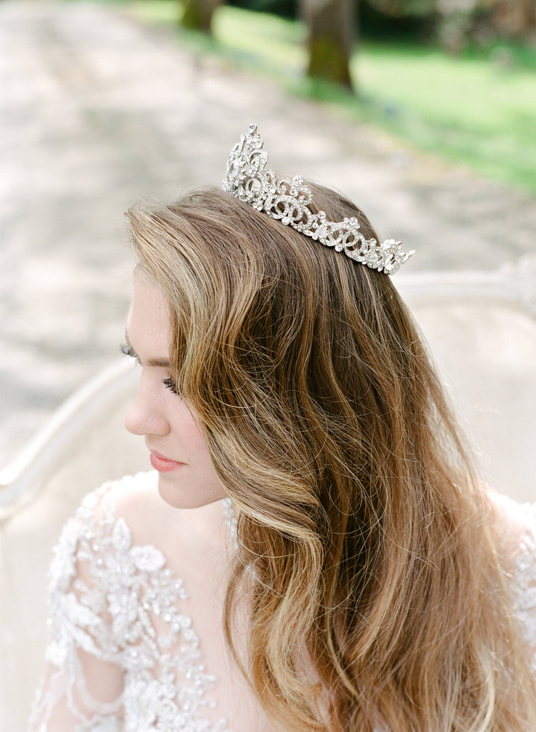 CORINNE Bridal Crown and Jewelry Suite