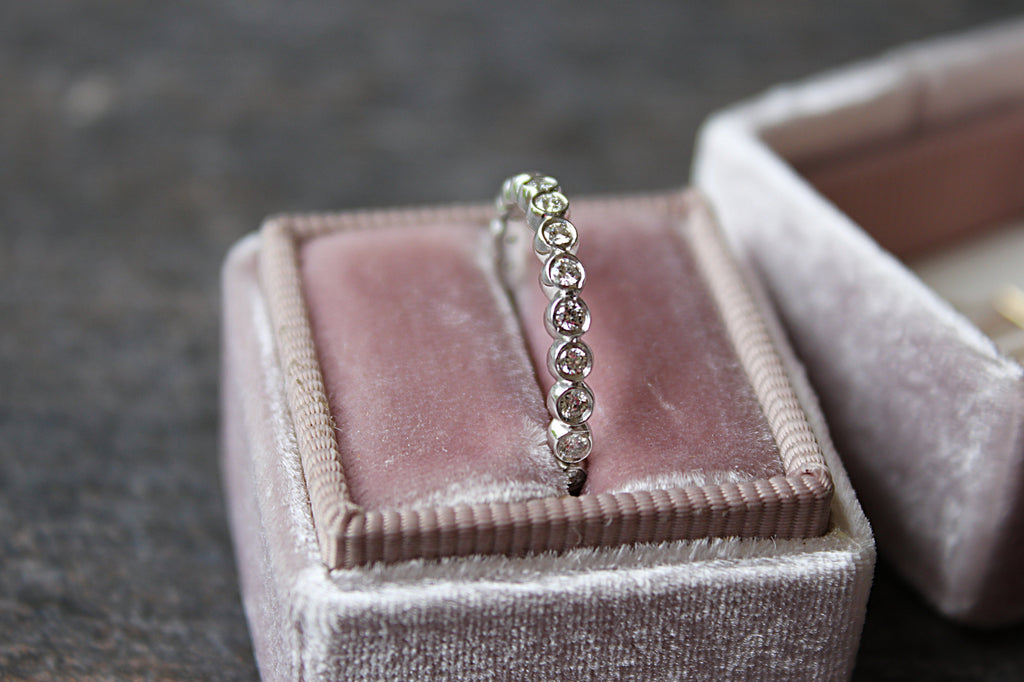 Eternity Band in Pink Mrs Box