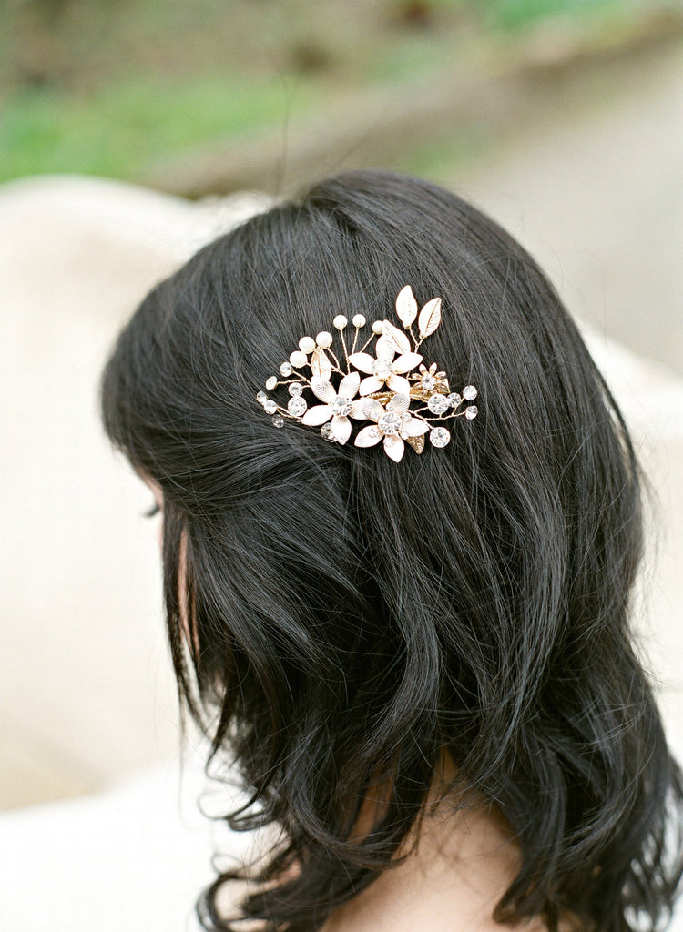 DYLAN Floral Wedding Headpiece