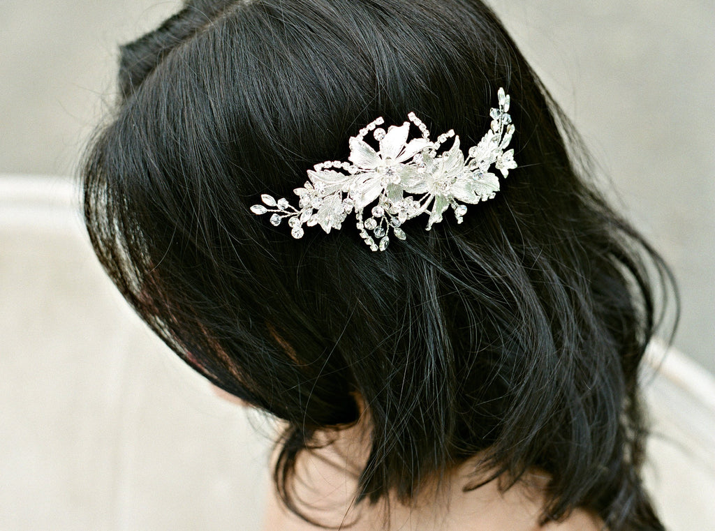 ELLA Silver Headpiece