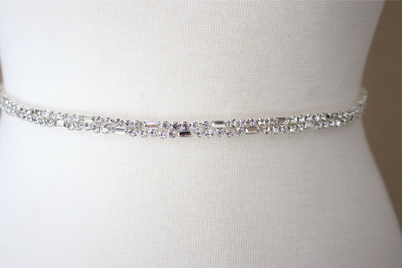 ESTELLE Crystal Bridal Belt