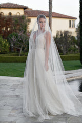 GRANDE AMBRELL Extra Long Royal Cathedral Drop Veil