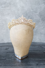 SHELLIE Gold Bridal Tiara