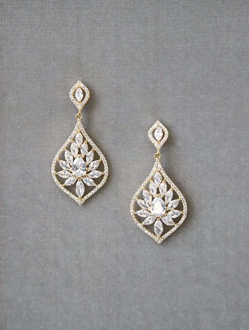 TAYLOR Bridal Earrings