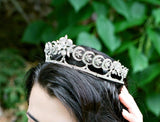 INA Art Deco Wedding Tiara