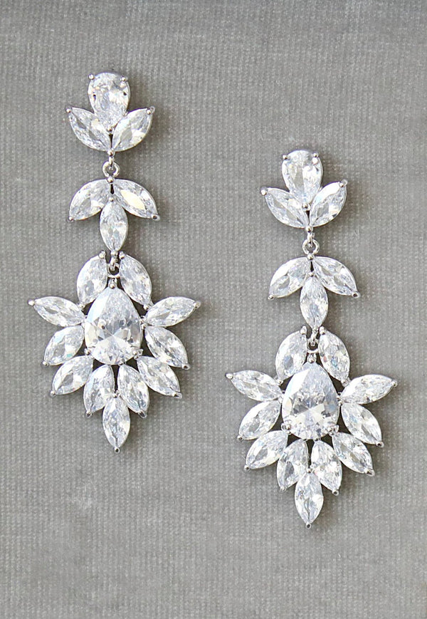 Wedding Earrings | EDEN LUXE Bridal
