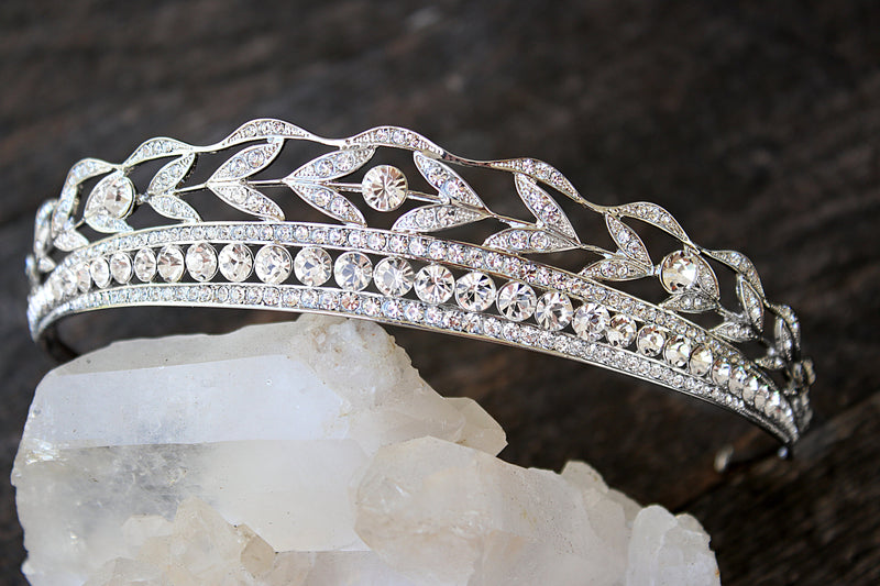 Bespoke Accent Color KENNEDY Wedding Tiara
