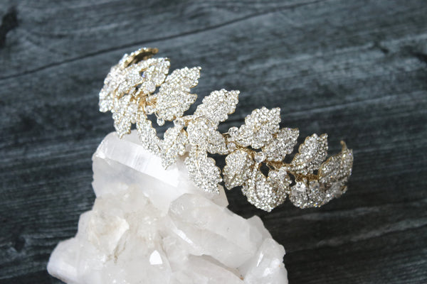 LAUREL Gold Headpiece Tiara