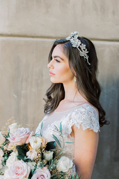 luxury bridal headpiece | EDEN LUXE Bridal
