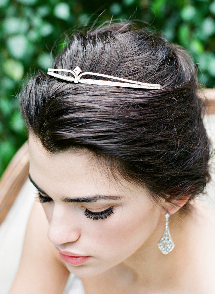 MEG Simulated Diamond Wedding Tiara