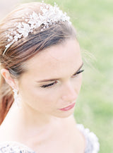 MONIQUE Gilded Leaves Bridal Tiara