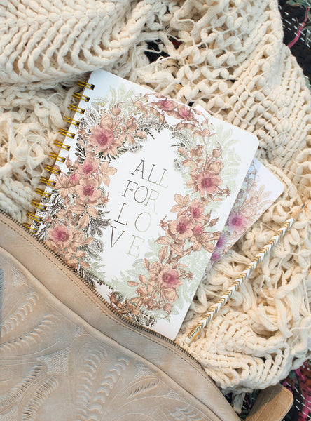 All for Love Decorative Notebook by PAPAYA