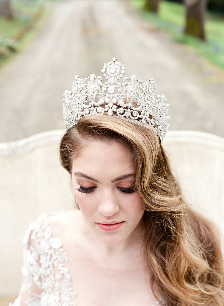 PERSEPHONE Royal Bridal Crown Payment 1 of 7