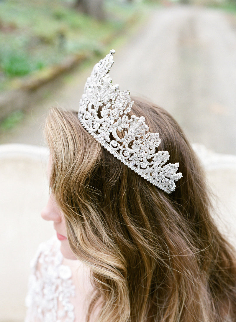 PERSEPHONE Royal Bridal Crown