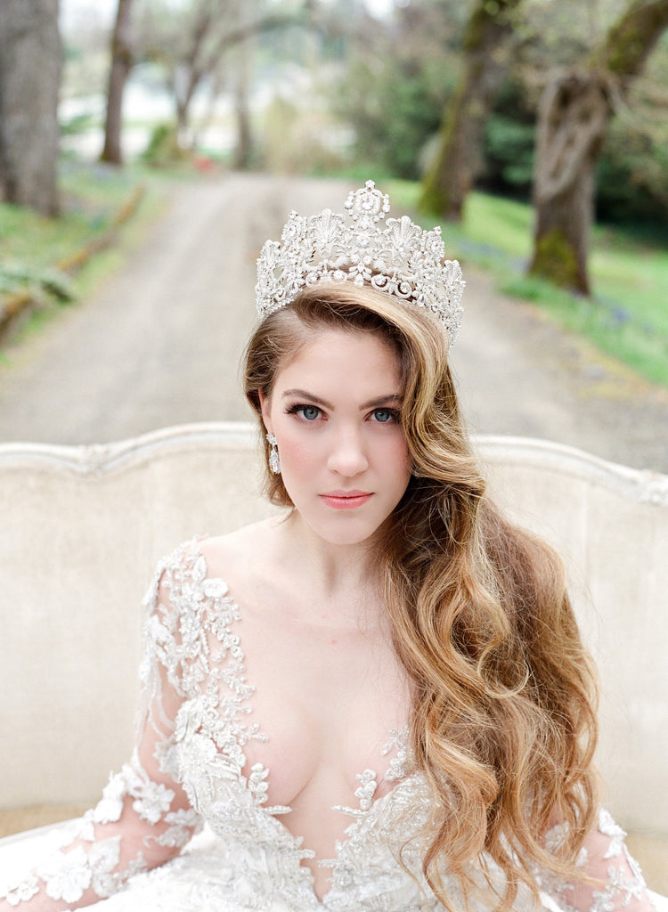 PERSEPHONE Royal Bridal Crown Payment 2 of 12
