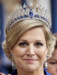 QUEEN MAXIMA Royal Bridal Crown