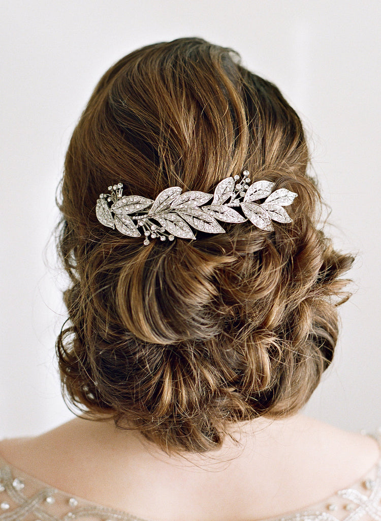 RHEA Leaf Silver Headpiece