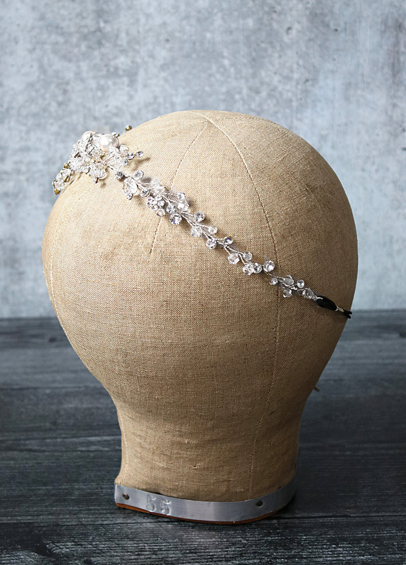 RHYS Crystal Bridal Headpiece