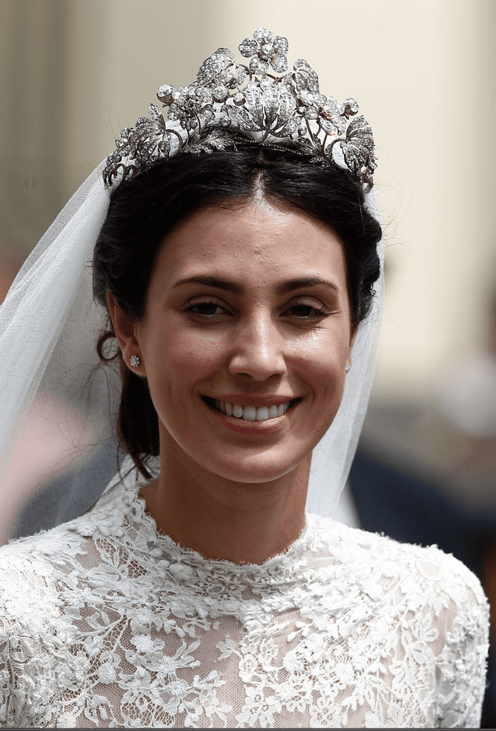BESPOKE Hanoverian Floral Tiara for PRINCESS MARY - Payment 1 of 2