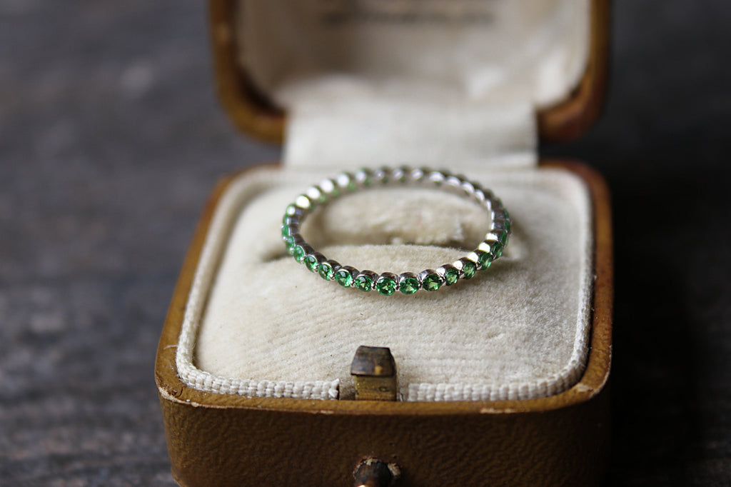 Green Wedding Band