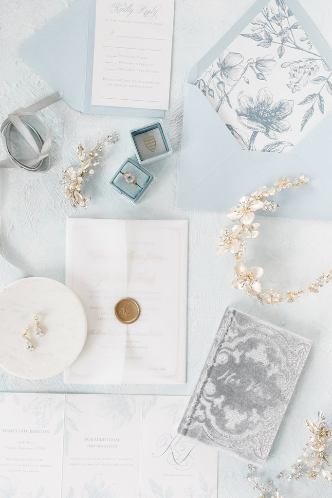 Bridal Jewelry Flatlay | EDEN LUXE Bridal