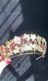 PRINCESS MARY Danish Ruby Bridal Tiara