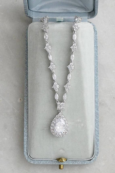 SPENCER Cubic Zirconia Necklace Set