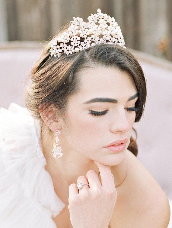 VIENNA Rose Gold Tiara