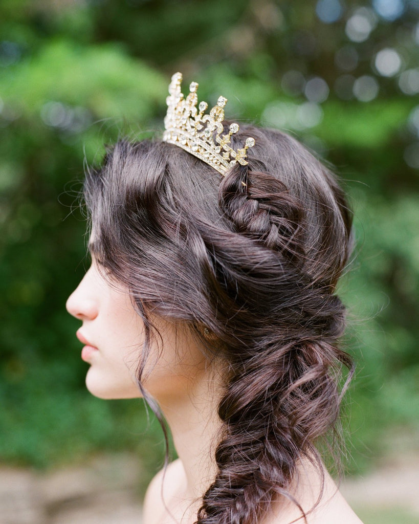 Gold Bridal Tiara Gold Bridal Tiara
